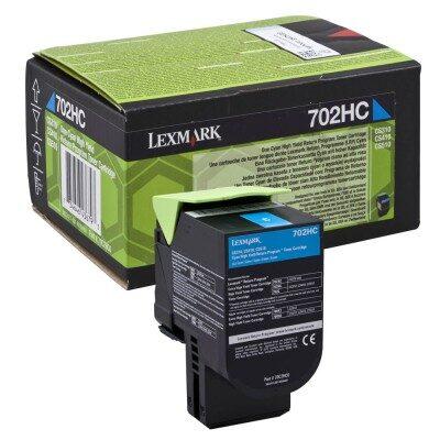 Lexmark 702HC Cyan High Capacity Original Toner Lexmark CS 310 | InkNu