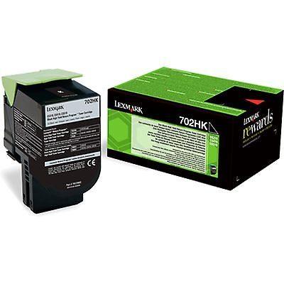 Lexmark 702HK Black High Capacity Original Toner Lexmark CS 310 | InkNu
