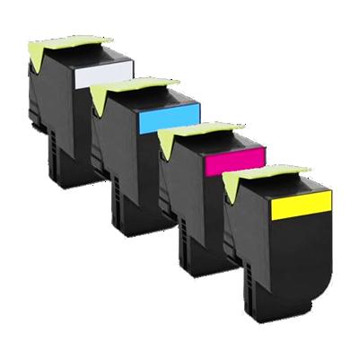 Lexmark 702HY Yellow High Capacity Kompatibel Toner Lexmark CS 310 | InkNu