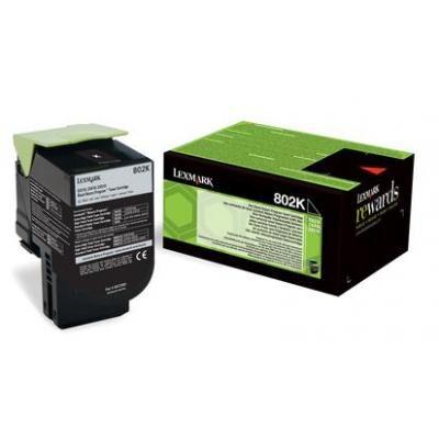 Lexmark 802K Black Original Toner Lexmark CX 310 | InkNu