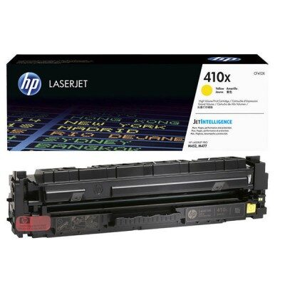 HP 410X Yellow High Capacity Original Toner HP Color LaserJet Pro M 452 | InkNu