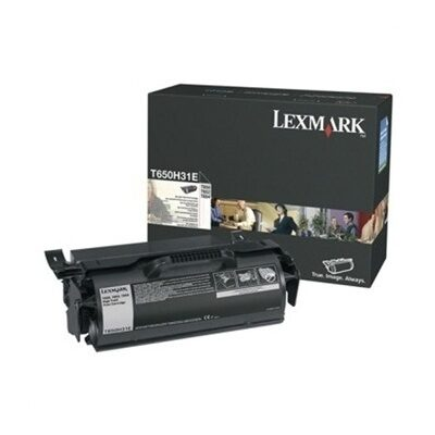 Lexmark T650H31E Black High Capacity Original Toner (UDGÅET) Lexmark T 650 | InkNu