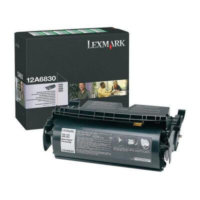 Lexmark 12A6830 Black Original Toner (UDGÅET) Lexmark T 520   InkNu