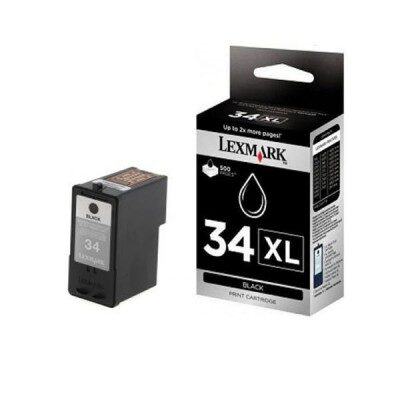 InkNu LEXMARK NO.34XL BLACK ORIGINAL BLÆKPATRON