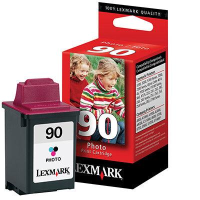 Lexmark NO.90 COLOUR Kompatibel Blækpatron Lexmark P 3120 | InkNu