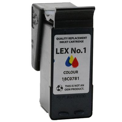 Lexmark NO1 Black Kompatibel Blækpatron Lexmark X 2300 | InkNu