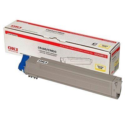 OKI 42918913 Yellow Original Toner 15.000 Sider OKI C 9600 | InkNu