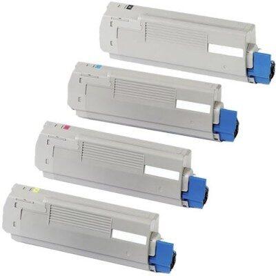 OKI 43865724 Black Kompatibel Toner 8.000 Sider OKI C 5850 | InkNu