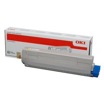 OKI 44844505 Yellow Original Toner 10.000 Sider OKI C 831 | InkNu