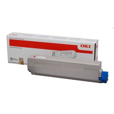 OKI 44844506 Magenta Original Toner 10.000 Sider OKI C 831 | InkNu