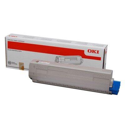 OKI 44844614 Magenta Original Toner 7.300 Sider OKI C 822   InkNu