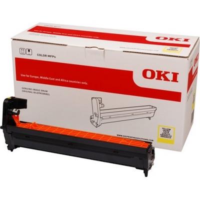 OKI 46438001 DRUM-UNIT Yellow Original 30.000 Sider OKI C 823 | InkNu