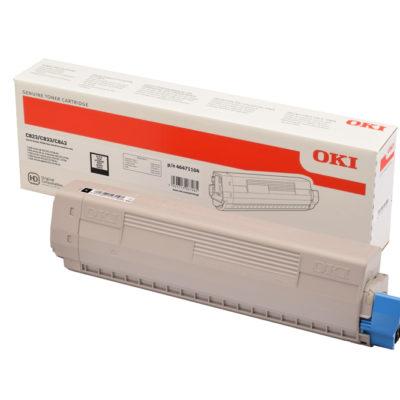 OKI 46471104 Black Original Toner 7.000 Sider OKI C 823 | InkNu