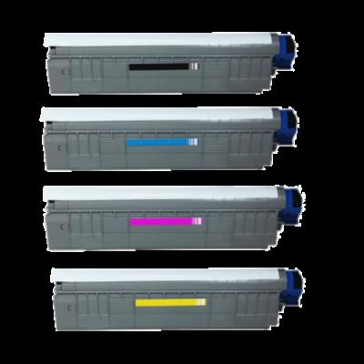 OKI C 822 CMYK Kompatibel Toner-PACK OKI C 822   InkNu