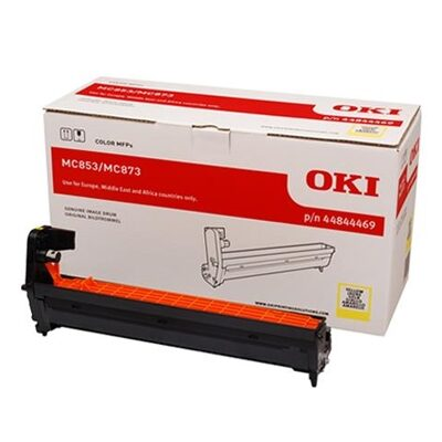 OKI 44844469 Yellow DRUM-UNIT Original 30.000 Sider OKI MC 853 | InkNu