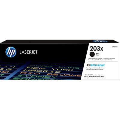 HP 203X Black Original Toner 3.200 Sider HP Color LaserJet Pro M 254 | InkNu