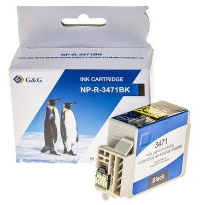 Epson 34XL Black Kompatibel Blækpatron Epson Workforce Pro 3720 | InkNu