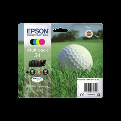 Epson 34 Standard Multipack Original Produkt Epson Workforce Pro 3720 | InkNu