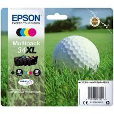 Epson 34XL Høj Kapacitet Multipack Original Produkt Epson Workforce Pro 3720 | InkNu