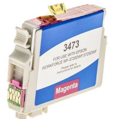 Epson 34XL Magenta Kompatibel Blækpatron Epson Workforce Pro 3720 | InkNu