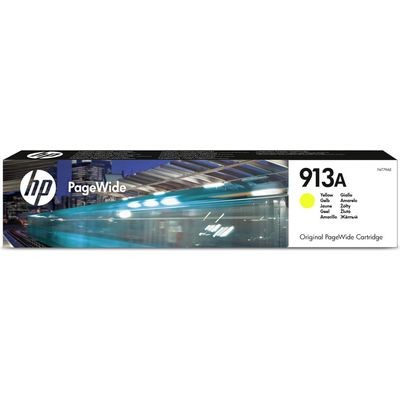 HP 913A Yellow Original Blækpatron HP PageWide Managed Color P 57750 DW | InkNu