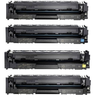 HP 203X Black Kompatibel Toner 3.200 Sider HP Color LaserJet Pro M 254 | InkNu