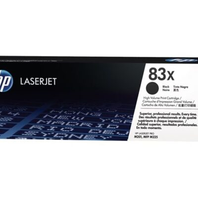 HP 83X Black Original Toner 2.200 Sider HP LaserJet Pro M 201 | InkNu