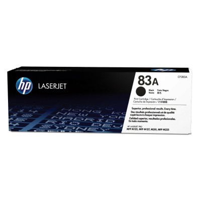 HP 83A Black Original Toner 1.500 Sider HP LaserJet Pro M 201 | InkNu