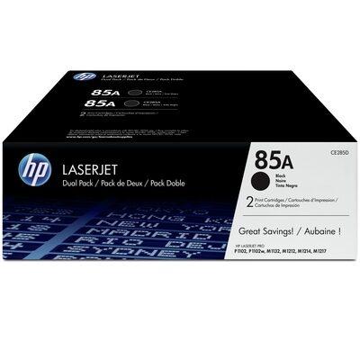 HP 85A Black Original Toner DUAL-PACK HP LaserJet Professional M 1132 | InkNu