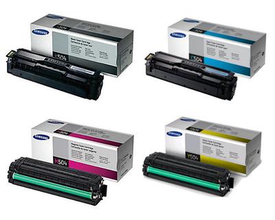 Samsung CLT-505L CMYK Original Toner (UDGÅET) Samsung ProXpress C 2620 | InkNu