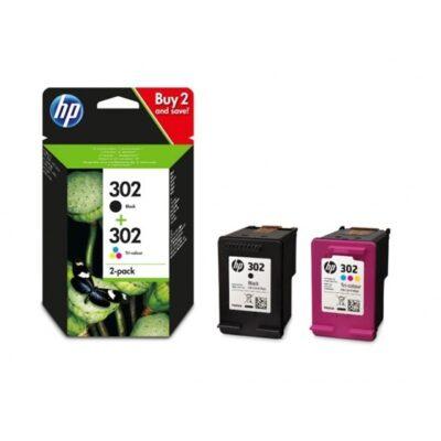 HP 302 2-Pack Standard Mutipack Original HP DeskJet 1110 | InkNu 2
