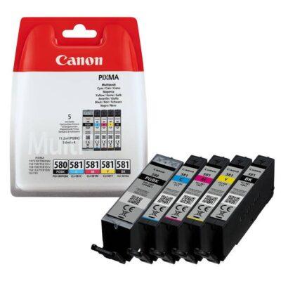 Canon PGI-580/CLI-581 BK/C/M/Y/K Original Multipack Canon PIXMA TR6150 | InkNu