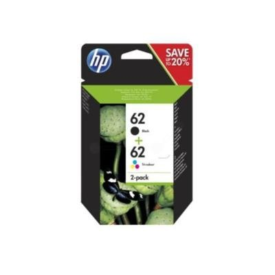 HP 62 2-Pack Standard Mutipack Original HP ENVY 5540 | InkNu 2