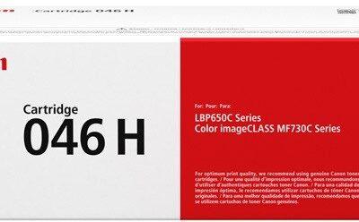 Canon CRG 046H Black Original Toner 6.300 Sider Canon iSensys LBP 653 | InkNu