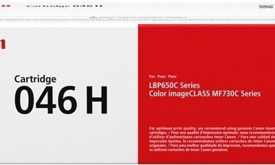 Canon CRG 046H Yellow Original Toner 5.000 Sider Canon iSensys LBP 653 | InkNu