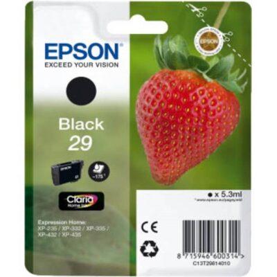 Epson 29 Standard Black Original Blækpatron Epson Expression Home XP 235 | InkNu