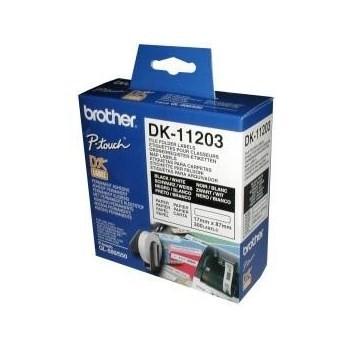 InkNu Brother DK11203 File Folder Labels Original