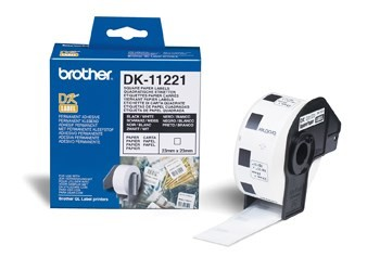 InkNu Brother DK11221 Square White Paper Labels Original