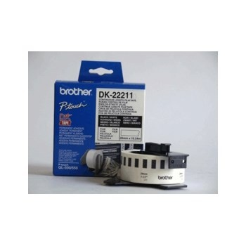 InkNu Brother DK22211 Endless Etiket Original 29mm x 15,24m