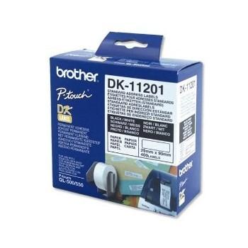 InkNu Brother DK11201 Standard Adress Labels Original