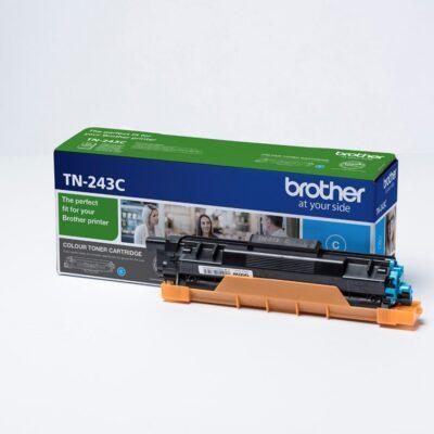 Brother TN243 Cyan Original Toner 1.000 Sider Brother DCP-L 3510 | InkNu