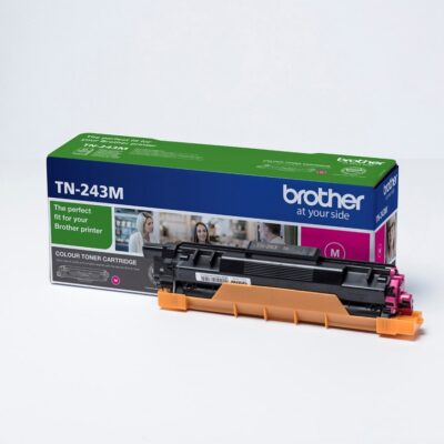 Brother TN243 Magenta Original Toner 1.000 Sider Brother DCP-L 3510 | InkNu