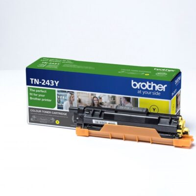 Brother TN243 Yellow Original Toner 1.000 Sider Brother DCP-L 3510 | InkNu