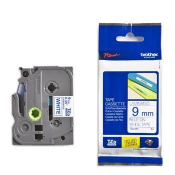 Brother TZe121 Tape 9mm x 8m Black On Clear Original Tape 9mm   InkNu 2