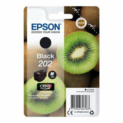 Epson T202 Black Original Blækpatron Standard Epson Expression Premium XP 6000 | InkNu