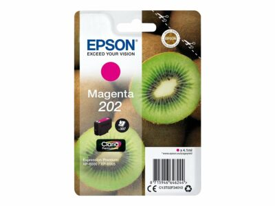 Epson T202 Magenta Original Blækpatron Standard Epson Expression Premium XP 6000 | InkNu