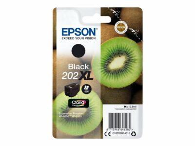 Epson T202XL Black Original Blækpatron Høj Kapacitet Epson Expression Premium XP 6000   InkNu