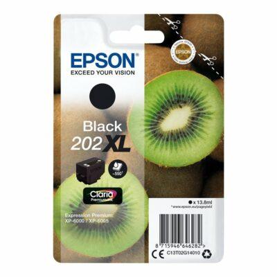 Epson T202XL Black Original Blækpatron Høj Kapacitet Epson Expression Premium XP 6000 | InkNu