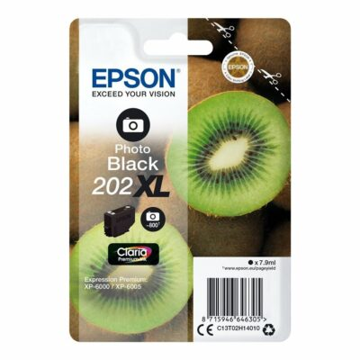 Epson T202XL Photo Black Original Blækpatron Høj Kapacitet Epson Expression Premium XP 6000 | InkNu