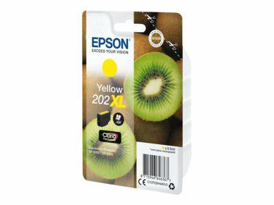 Epson T202XL Yellow Original Blækpatron Høj Kapacitet Epson Expression Premium XP 6000   InkNu